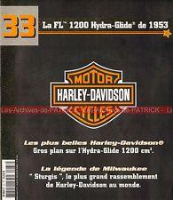 HARLEY DAVIDSON FL 1200 Hydra Glide 1953 ; Rassemblement de STURGIS MOTO HD