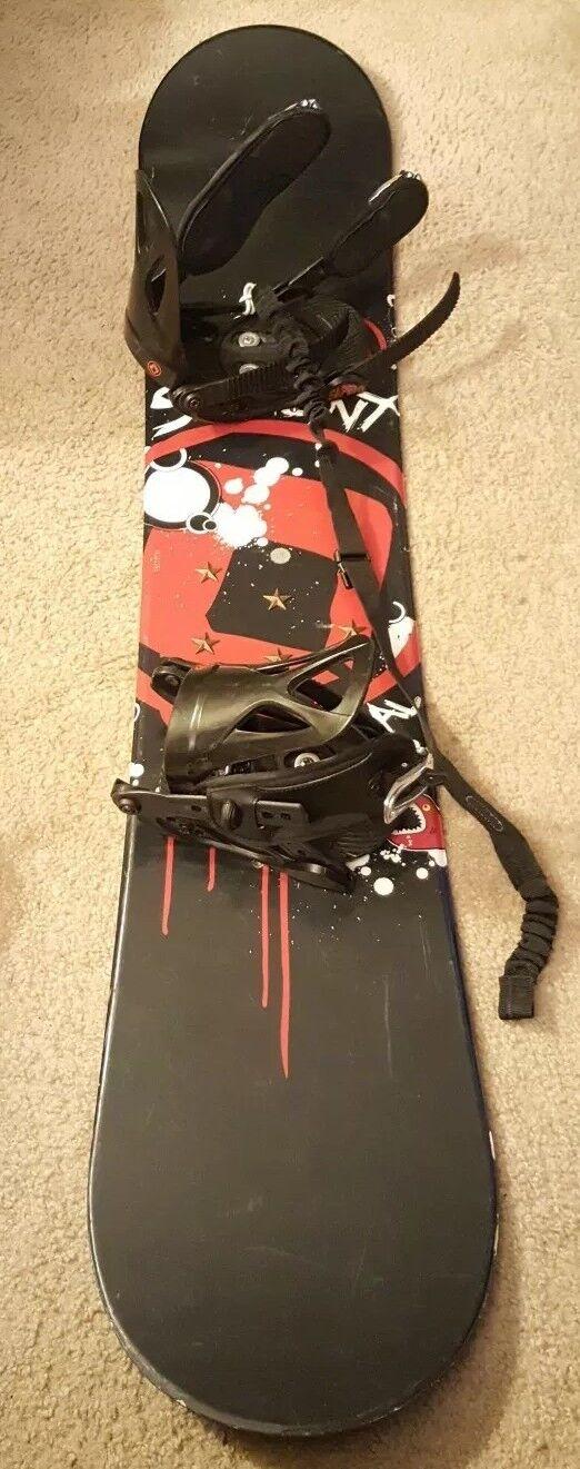 Sapient  Snowboard Mens 137cm with Sapient bindings