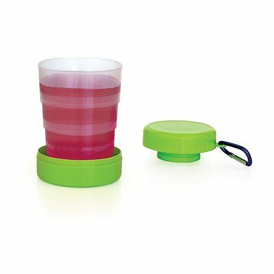 Perfect Picnic Essentials Drink Cup Collapsible Holds 250ml Base & Lid Folds