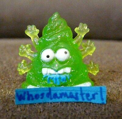 The Trash Pack Junk Germs Series 7 #1143 POOL PUKE Green Mint OOP