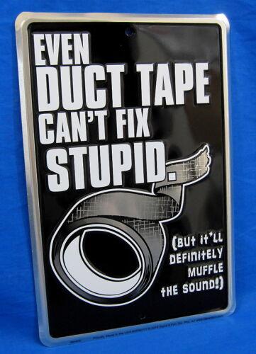 Ne peut pas réparer stupide * USA Made en relief SIGNE-man cave garage bar Shop Wall Decor