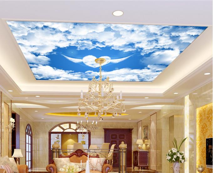 3D Heart Cloud Sky 933 Wall Paper Wall Print Decal Wall Deco AJ WALLPAPER Summer