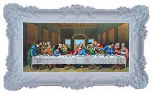 Wahl 19 x 24 cm A//9 Sonderpreis 2 Cristus Jesus Bild mit Rahmen Alubild Nr.