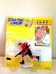 Chris Chelios, Chicago Blackhawks – 1997 Starting Lineup – Figurine & Card