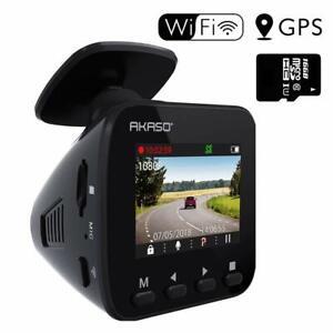 AKASO-Camera-Voiture-Embarquee-Conduite-Enregistreur-WiFi-Dash-Cam-1296P-Full-HD