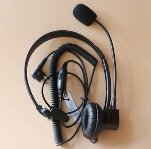 Over-Head-Headset-Earpiece-Boom-Mic-For-Motorola-CT150-CT-250-CT450-CT450LS