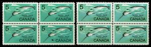 Canada-SC-480-ERROR-Missing-Color-Blk-of-4-w-Normal-MNH-amp-Bileski-Note-S2482