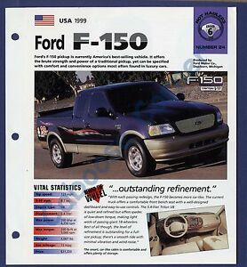 1999 ford f150 tire specs