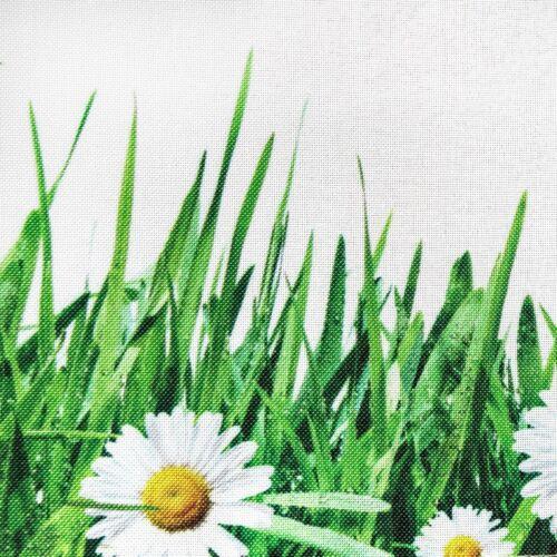 ECRU Nappe Fleurs Nappe Rectangulaire Table Coureur Motif Floral Oster Spring