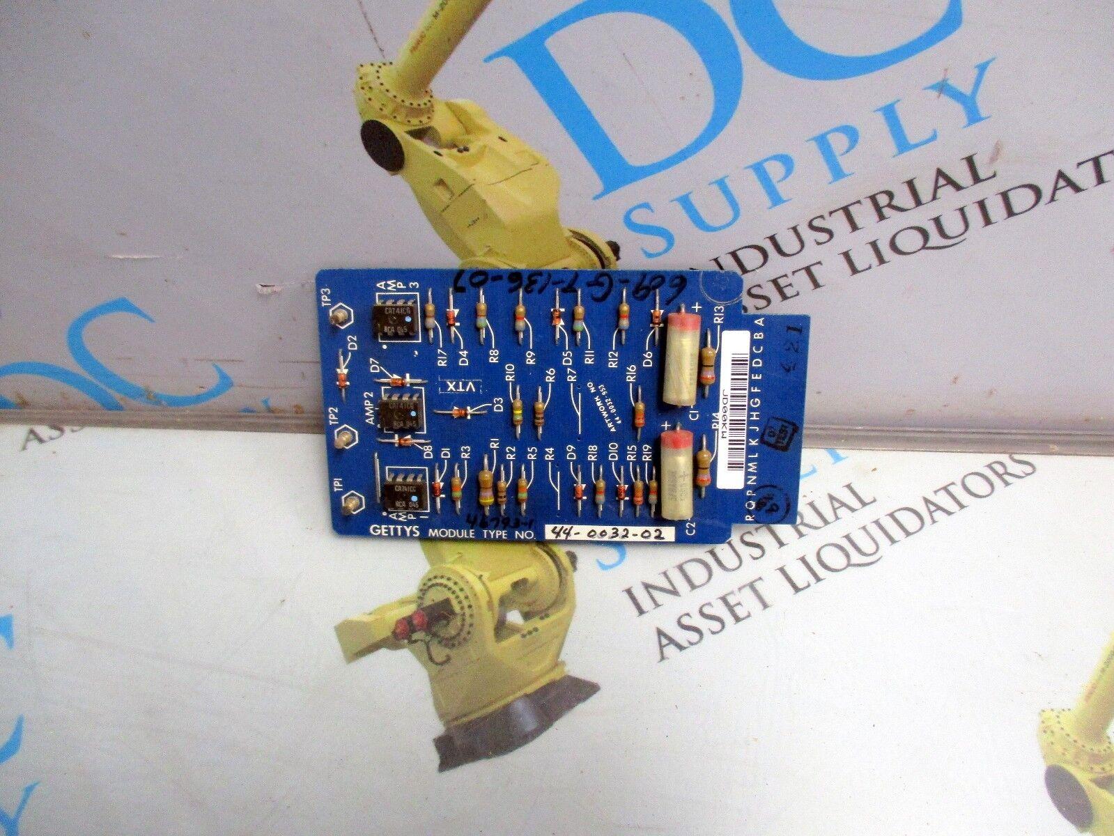 GETTYS 44-0032-02 CONTROL MODULE CIRCUIT BOARD
