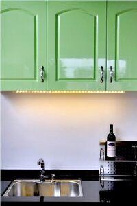 LED-Lichtleiste-3-LED-Stick-div-Farben-Unterbauleuchte-Regalbeleuchtung-Schrank
