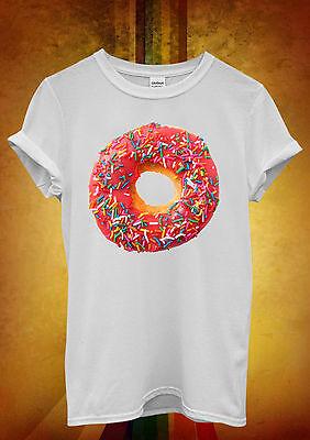 Doughnut Pink OFWGKTA Fresh Hipster Men Women Unisex T Shirt Tank Top Vest 300