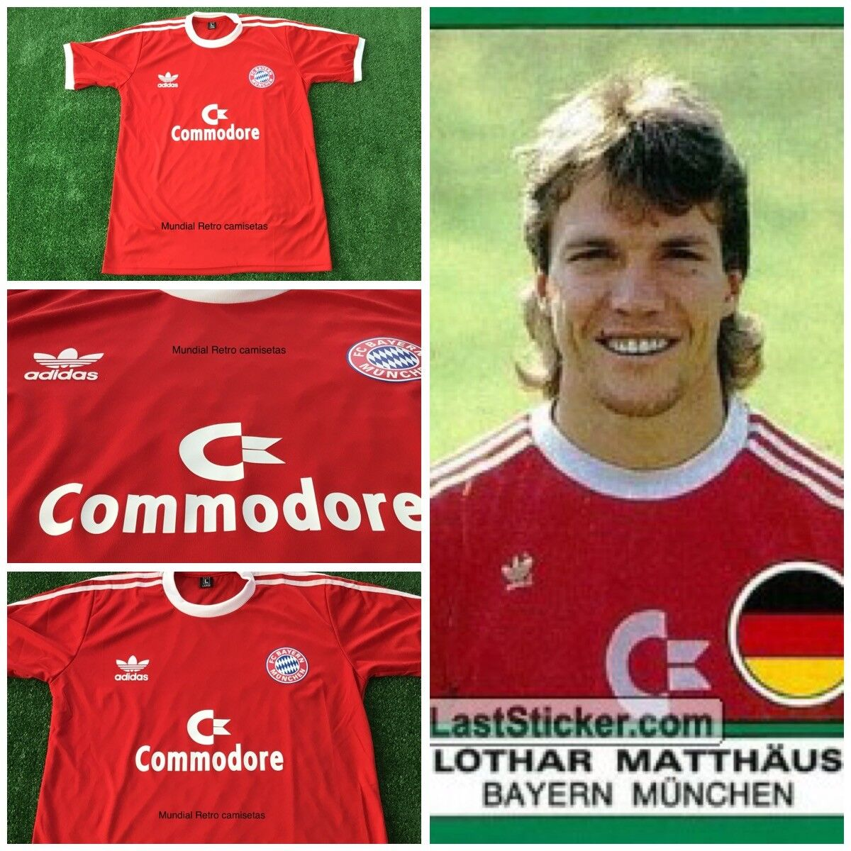 Bayern Munich champion 1987 jersey maglia camiseta (replica)