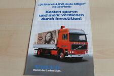 140379) Volvo LKW - Kosten sparen... - Prospekt 198?