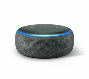AMAZON Echo Dot (2018) - Charcoal - Currys