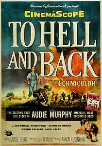 Magnet Movie Poster Photo Magnet To Hell And Back 1955