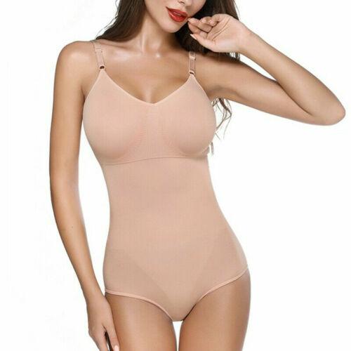 Ladies Full Body Shaper Slimming Shapewear Firm Tummy Control Bodysuit Girdle