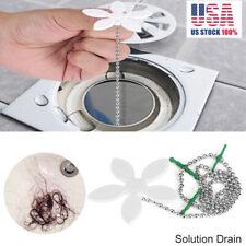 15Pcs Sink Drain Stopper Hair Trap Kitchen Shower Plug Bathtub