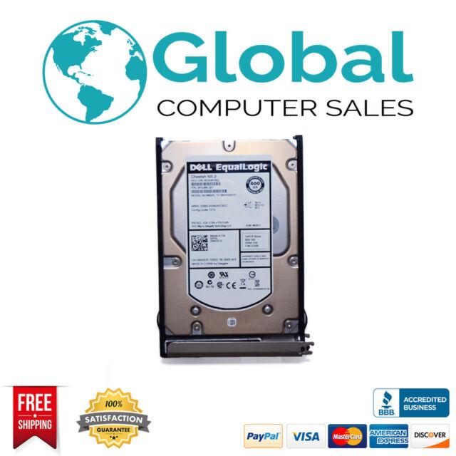 """Dell EqualLogic WK0CR ST3600002SS 600GB 10K 3.5"""" SAS Hard Drive PS6500"""