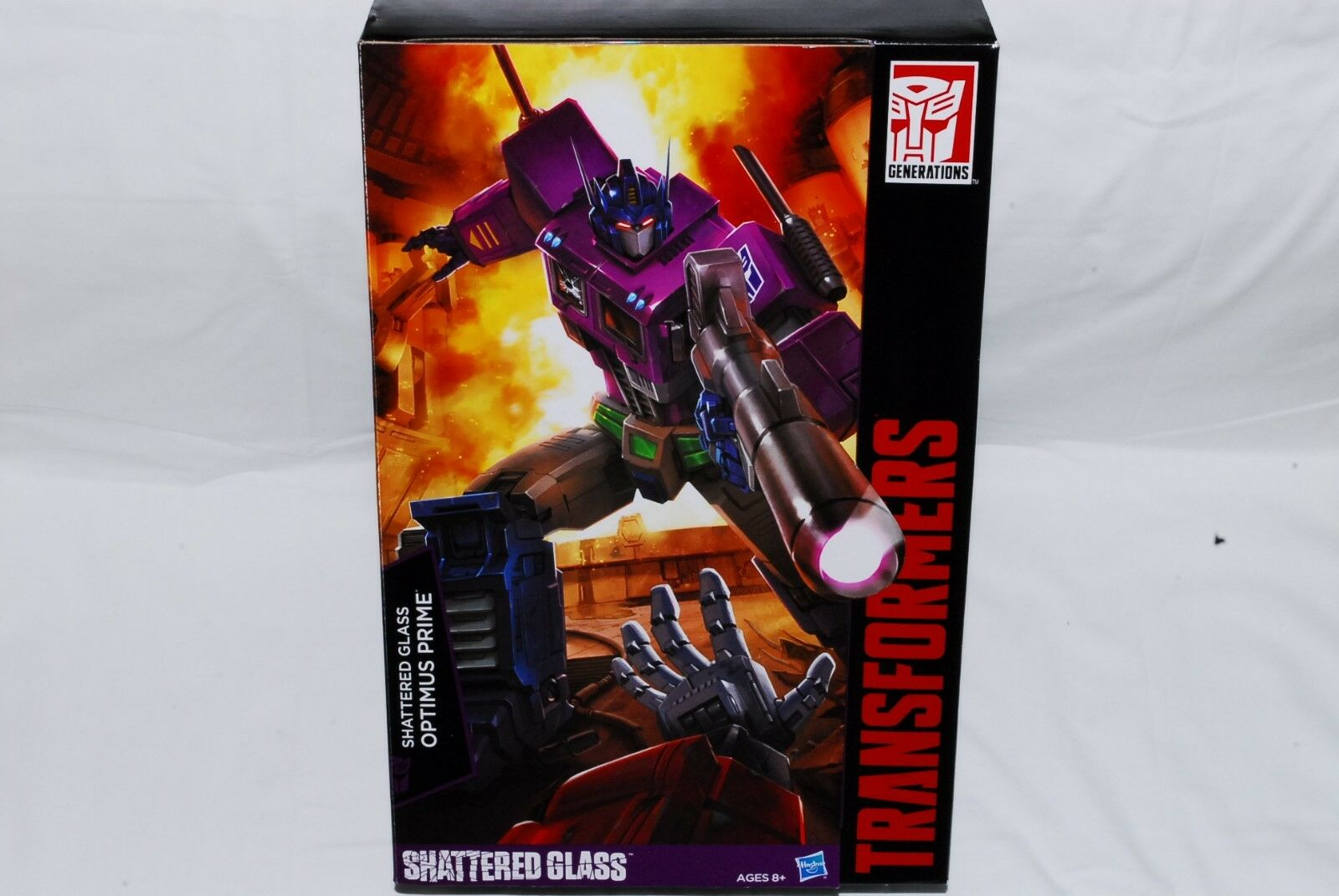 【NEW】Transformers Masterpiece MP-10SG Shattered Glass Optimas Prime From Japan