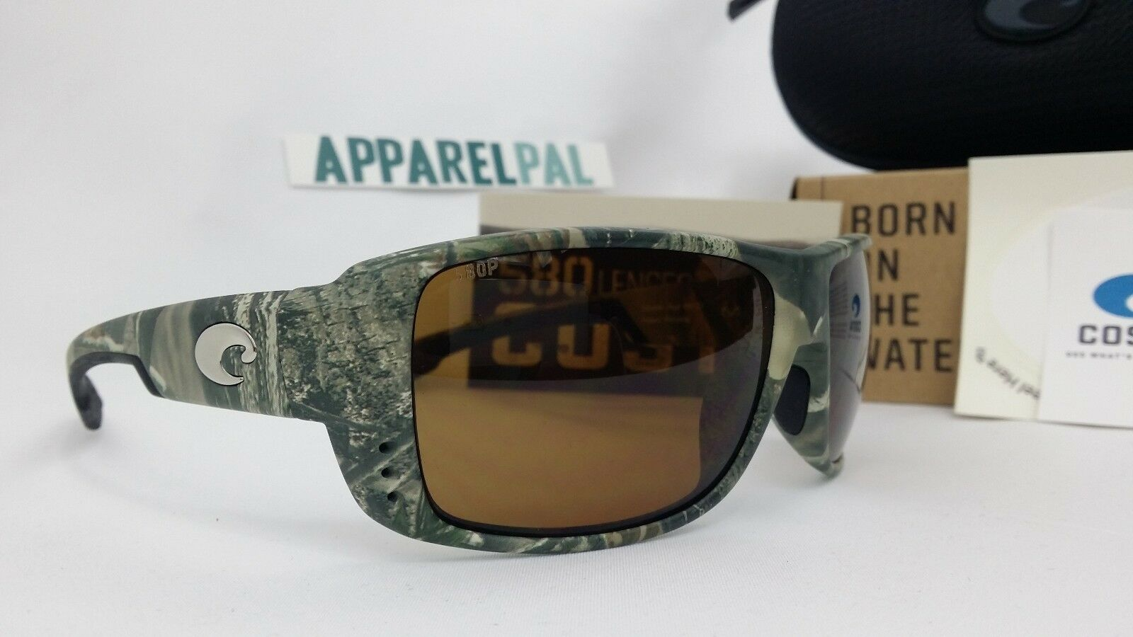 Costa del Mar Double Haul Polarized Sunglasses Realtree Camo/Amber 580P Fishing