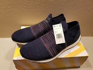 Men's Adidas Ultra Boost Laceless Multi ColoRunning Navy