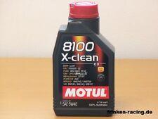 Motul 8100 X-Clean 5w-40 1 LTR bmw ll-04 MB 229.51