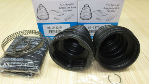 Inner /& Outer CV Axle Boot Kit for Ford C-Max 2013 2014 2015 2016 EMPI CMAX