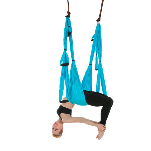 Aerial Yoga Swing Yoga Hammock Trapeze Anti Gravity Yoga Inversion Prop USA