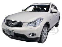 2012 Infiniti Ex25 Ex 25 White 1/18 Diecast Model Car By Paudi 5507