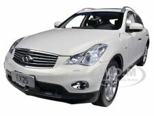 2012 INFINITI EX25 EX 25 WHITE 1/18 DIECAST MODEL CAR BY PAUDI 5507