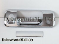 Chrome Tailgate Handle Cover W/camera Cut-out For 2007-2013 Toyota Tundra