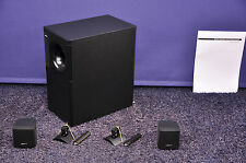 Bose Acoustimass 3 Series IV + UB-20 Wandhalter Schwarz   Serie 4 iv Stereo