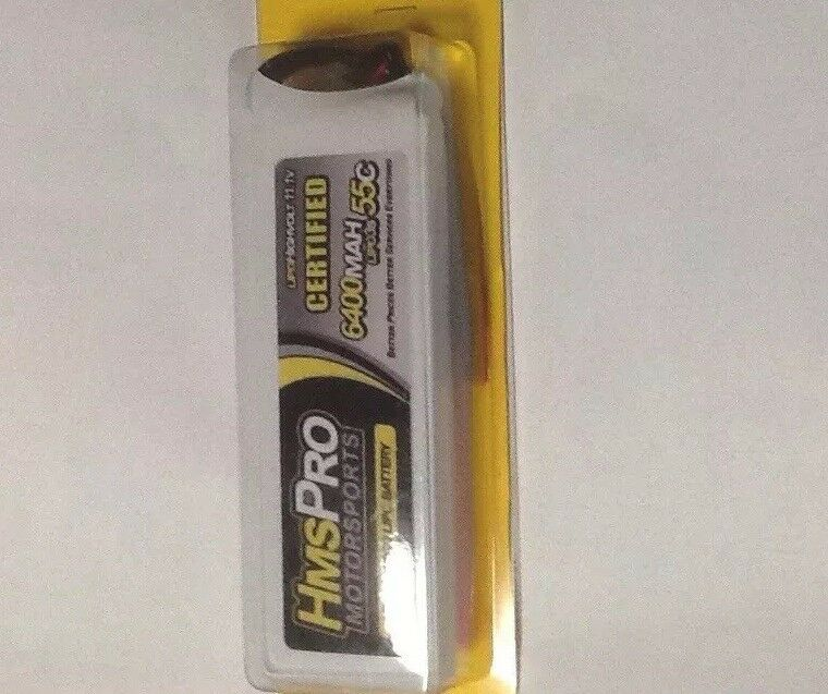 Lipo Batteries giallo Pro    55c11.1-Volt 3S 3-Cell 6400 LiPo Battery 383c9d