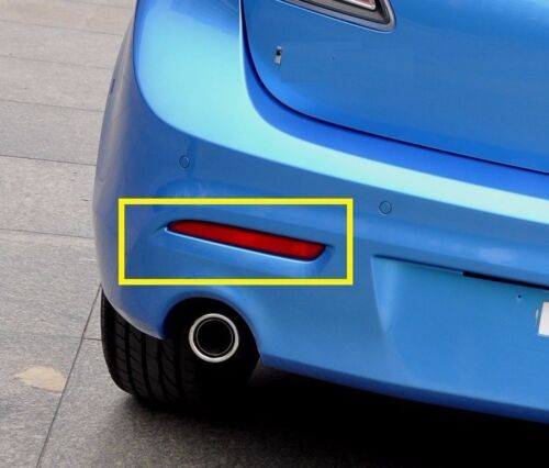 Tail Rear Bumper Reflector Warning Light For Mazda 3 2010 2011