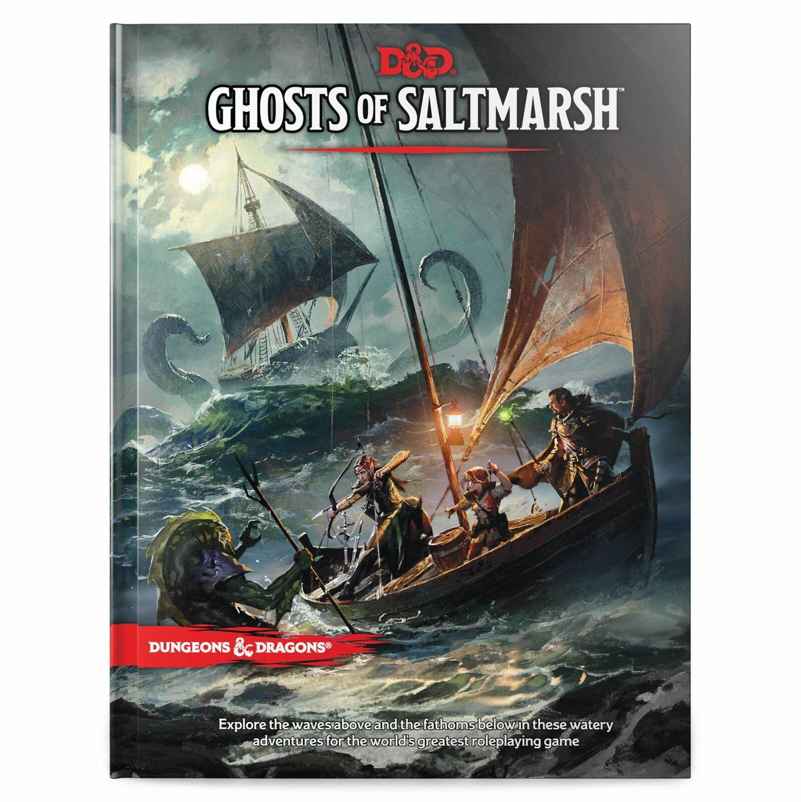 Dungeons & Dragons Ghosts of Saltmarsh Hardcover Book (D&D Adventure) Pre order