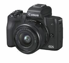 Artikelbild Canon EOS M50 EF-M 15-45 Kit Schwarz Digitale Systemkamera NEU OVP