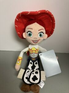 """Disney Store Toy Story Jessie 11"""" Mini Bean Bag Plush Doll - NEW with Tags"""