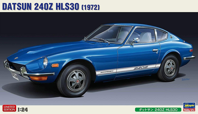left-hand drive specification Model 20405 Hasegawa 1//24 Datsun 240Z HLS30