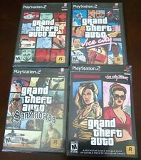 Grand Theft Auto  (PS2 BUNDLE)  GTA III, Vice City, San Andreas, LC & VC Stories