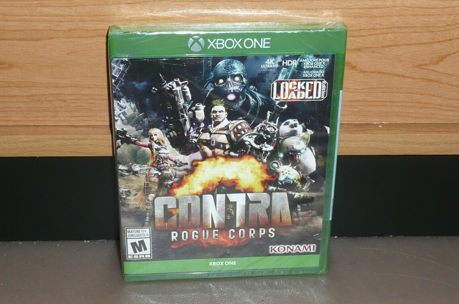XBOX ONE - CONTRA ROGUE CORPS LOCK & LOADED (Brand NEW Sealed) NTSC CDN Seller