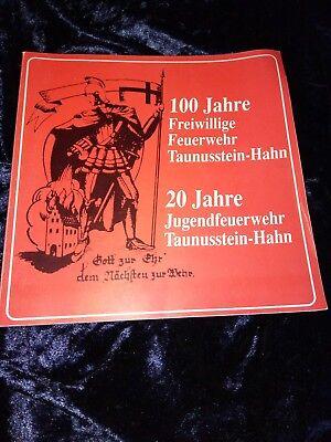 100 Jahre Freiwillige Feuerwehr Taunusstein-hahn Anno 1991