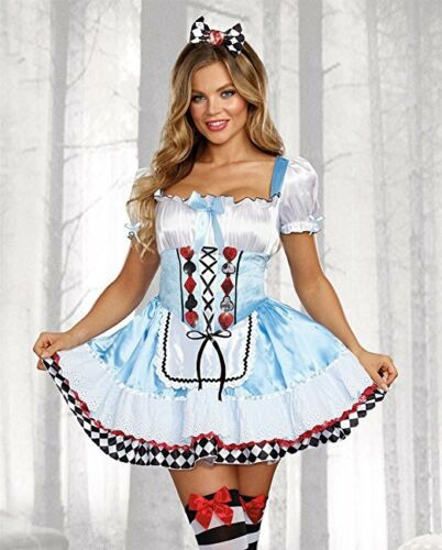 Dreamgirl Beyond Wonderland Alice Rabbit Adult Womens Halloween Costume 10668