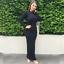 Women-Slim-Bodycon-Long-Dress-Muslim-Maxi-Cocktail-Party-Jilbab-Abaya-Robes-Gown thumbnail 13