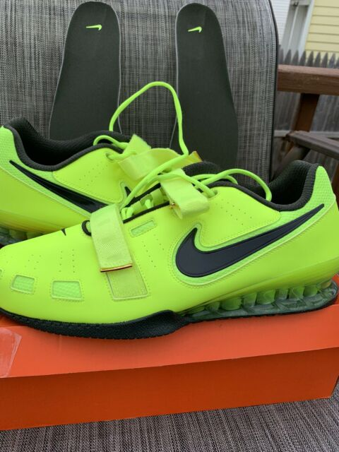 Geografía mecanógrafo cable  Nike Romaleos 2 Oly Weightlifting Shoes Volt 476927-730 Mens Sz 12 Crossfit  for sale online | eBay