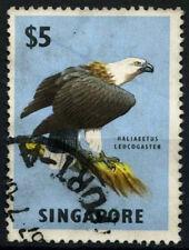 Singapore 1962-6 SG#77 $5 Eagle Bird Definitive Used #D46998