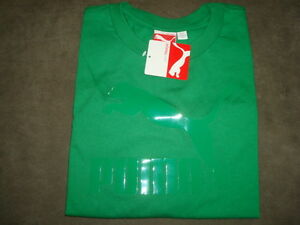 PUMA-GREEN-T-SHIRT-SIZE-L