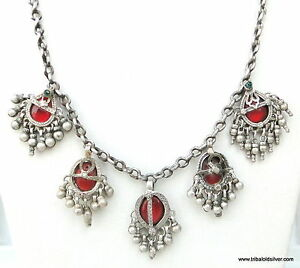 yoga necklace products image multilayer silver vintage product