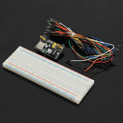 1pcs MB102 Solderless Breadboard +3.3V/5V Power Supply Module Kit  for Arduino